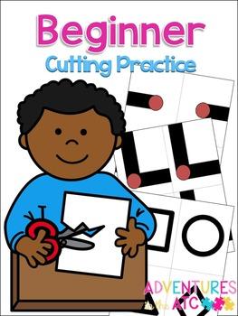 Beginner Cutting Practice Worksheets