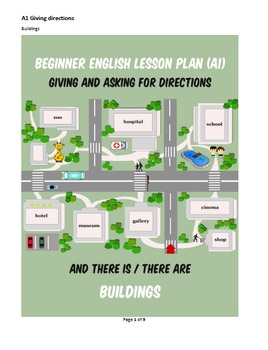 Beginner EFL/ESL Lesson Plan-Asking for and Giving Directions (A1)