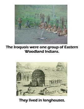 Beginner ELL Book on the Eastern Woodland Indians