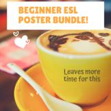Beginner ESL ENL Poster Bundle