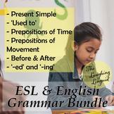 Beginner & Elementary Grammar Bundle - 6 Lesson Pack
