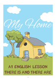 Beginner English Lesson (A1) - There is and There are - My Home