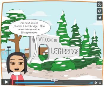 French FSL: J'habite en Alberta