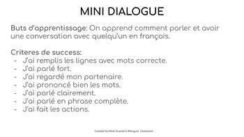 Beginner French Dialogue