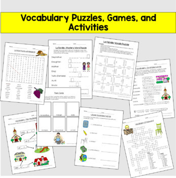 Beginner French Growing Bundle - FULL YEAR of Activities!! (Gr 4-7)