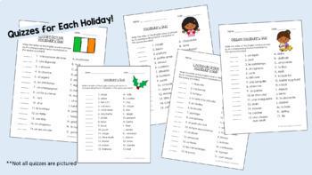 Beginner French Holiday BUNDLE (Grades 4-7)