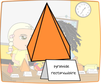 Beginner French FSL: Les form geometrique