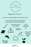 Beginner French Reading Comprehension Questions