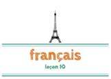 Beginner French - ages 6-9 - leçon 10 - #20-30, masculin/feminin, famille 1