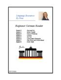 German Beginner Reader - Deutsch Lesen für Anfänger - 10 Short Readings!