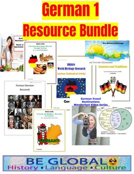 Beginner German Resource BUNDLE