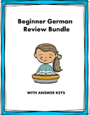 Beginner German Review: 15 Pages! (Versions 1-3)