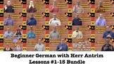 Beginner German with Herr Antrim #1-15
