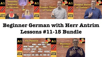 Beginner German with Herr Antrim 11-15