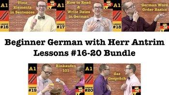 Beginner German with Herr Antrim #16-20