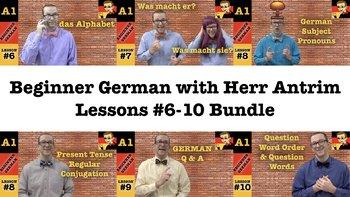 Beginner German with Herr Antrim #6-10 Bundle