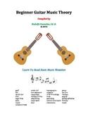 Beginner Guitar Music Theory