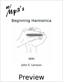 Beginning Harmonica - Free Preview - Digital Print