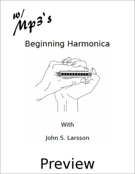 Beginning Harmonica - Free Preview - Digital Print