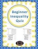 Beginner Inequalities Quiz