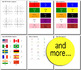 Beginner Japanese: colors - ☆no prep☆ printables, quizes, activities and more