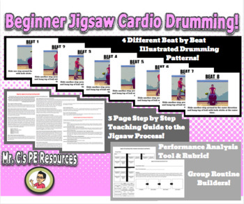 Beginner Jigsaw Cardio Drumming!