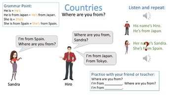 Beginner Lesson 1.2 Where are you from?
