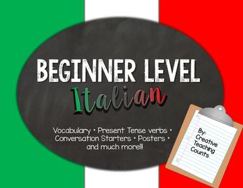Beginner Level Italian Pack