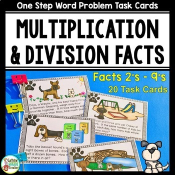 Multiplication & Division Basic Facts in Word Problems