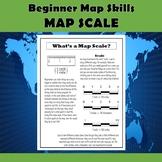 Map Scale Beginner Map Skills Activities