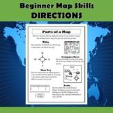 Beginner Map Skills-Cardinal and Intermediate Directions