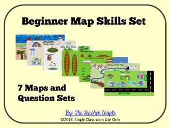 Beginner Map Skills Set