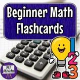 Beginner Math Flashcards Pack