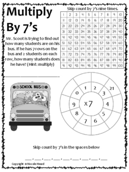 Beginner Multiplication Facts (1-9)