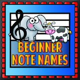 Beginner Music Notes - Chinese Edition