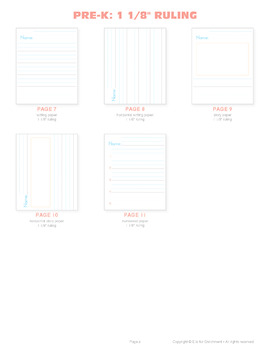 Beginner Paper - Pre-K through Early Elementary