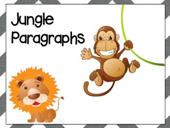 Beginner Paragraphs - Jungle Theme