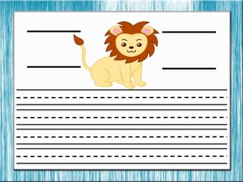 Beginner Paragraphs - Zoo Theme