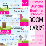 Beginner Phonics ULTIMATE Bundle BOOM Cards(Digital)