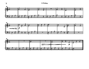 Beginner Piano Solo - Floating from Turtle Songs