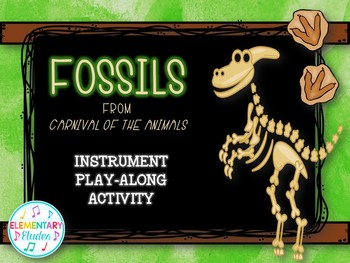 Beginner Play-Along: Fossils (Instrument Pictures Only)