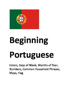 Beginner Portuguese (European) Worksheets
