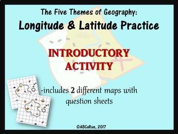 Beginner Practice for Longitude and Latitude