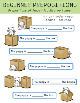 Beginner Prepositions of Place