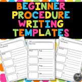 Beginner Procedure Writing Templates