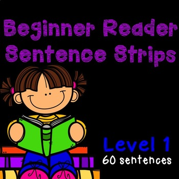 Beginner Reader Sentence Strips