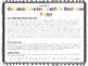 Beginner Reader Sentence Strips