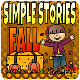 Beginner Reading Passages Simple Stories Autumn Fall Theme Beginning Literacy