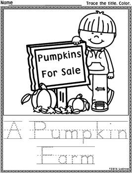 Beginner Reading Passages Simple Stories Autumn Fall Theme Beginning Literacy