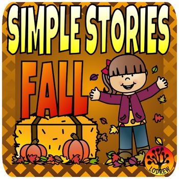 Beginner Reading Passages Simple Stories Autumn Fall Theme